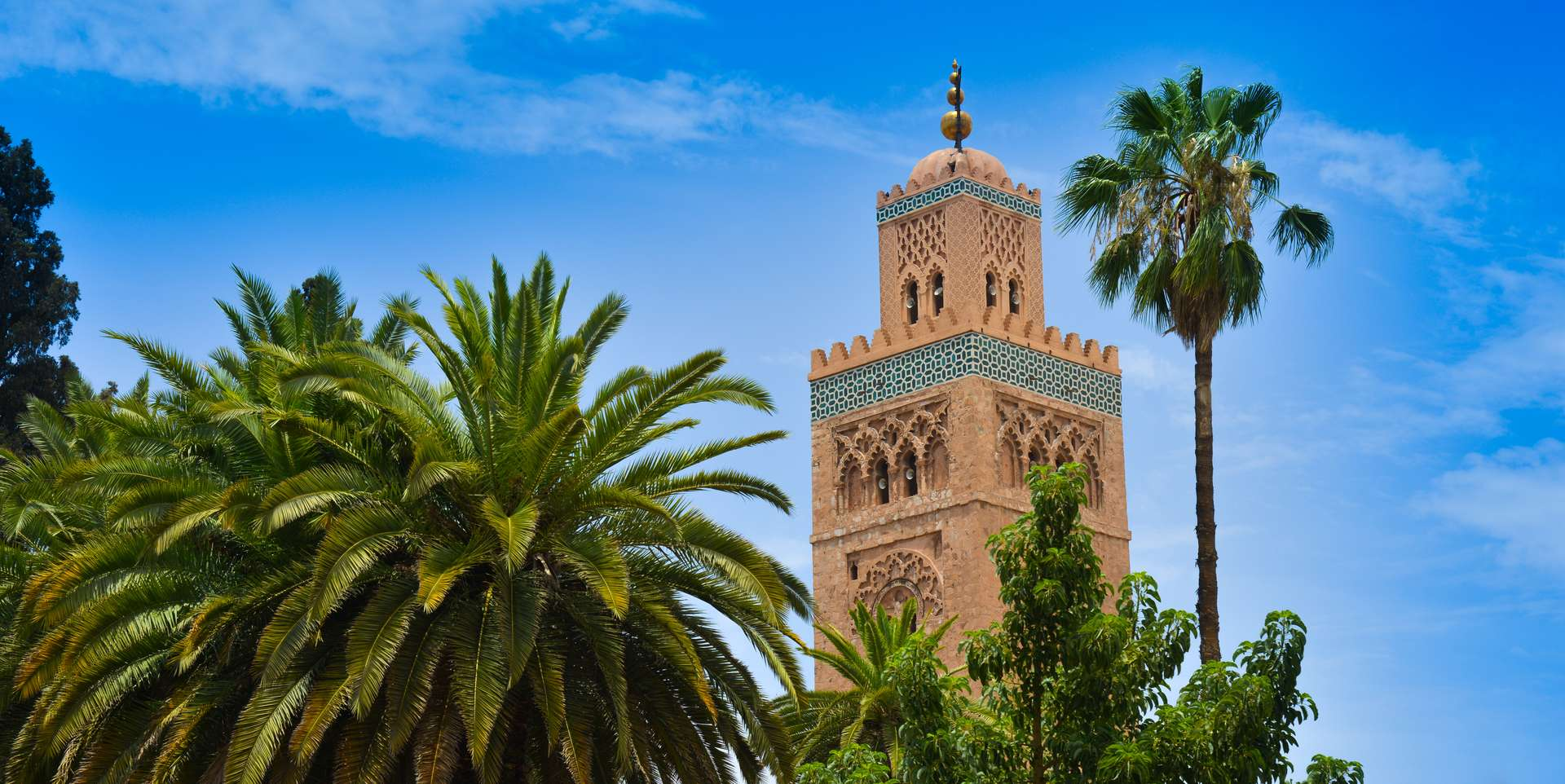 Marokko Marrakech Mosque of Koutoubia