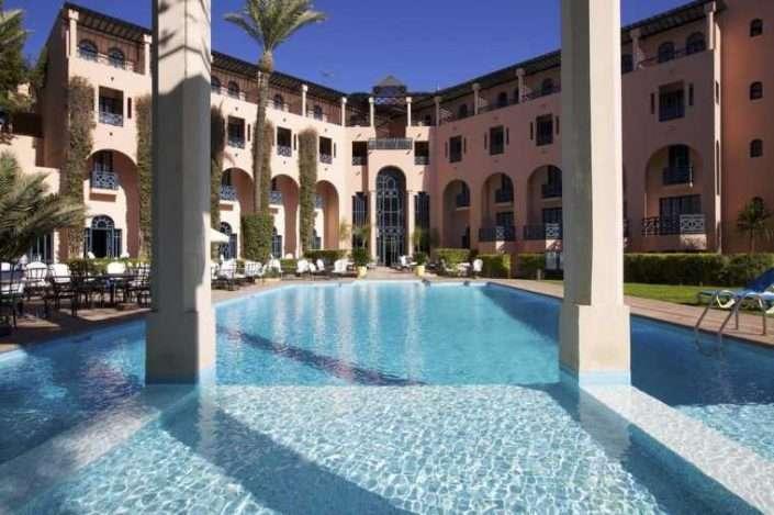 Marrakech Le Tichka zwembad