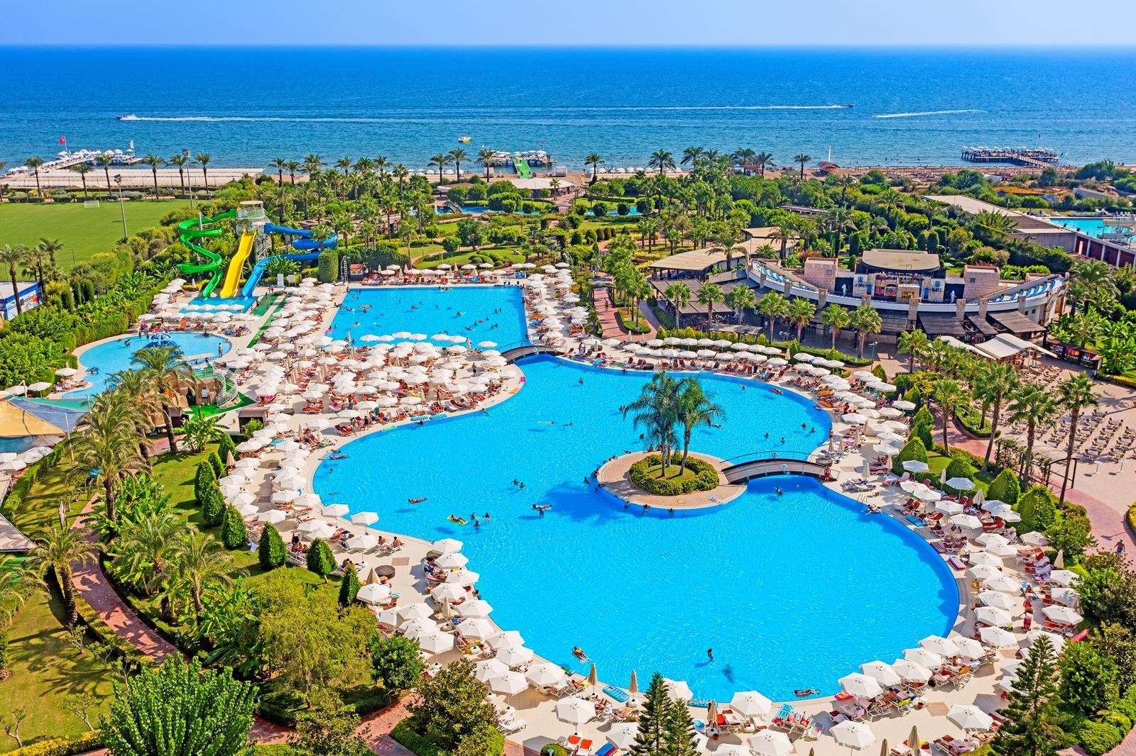 Miracle Resort ligging