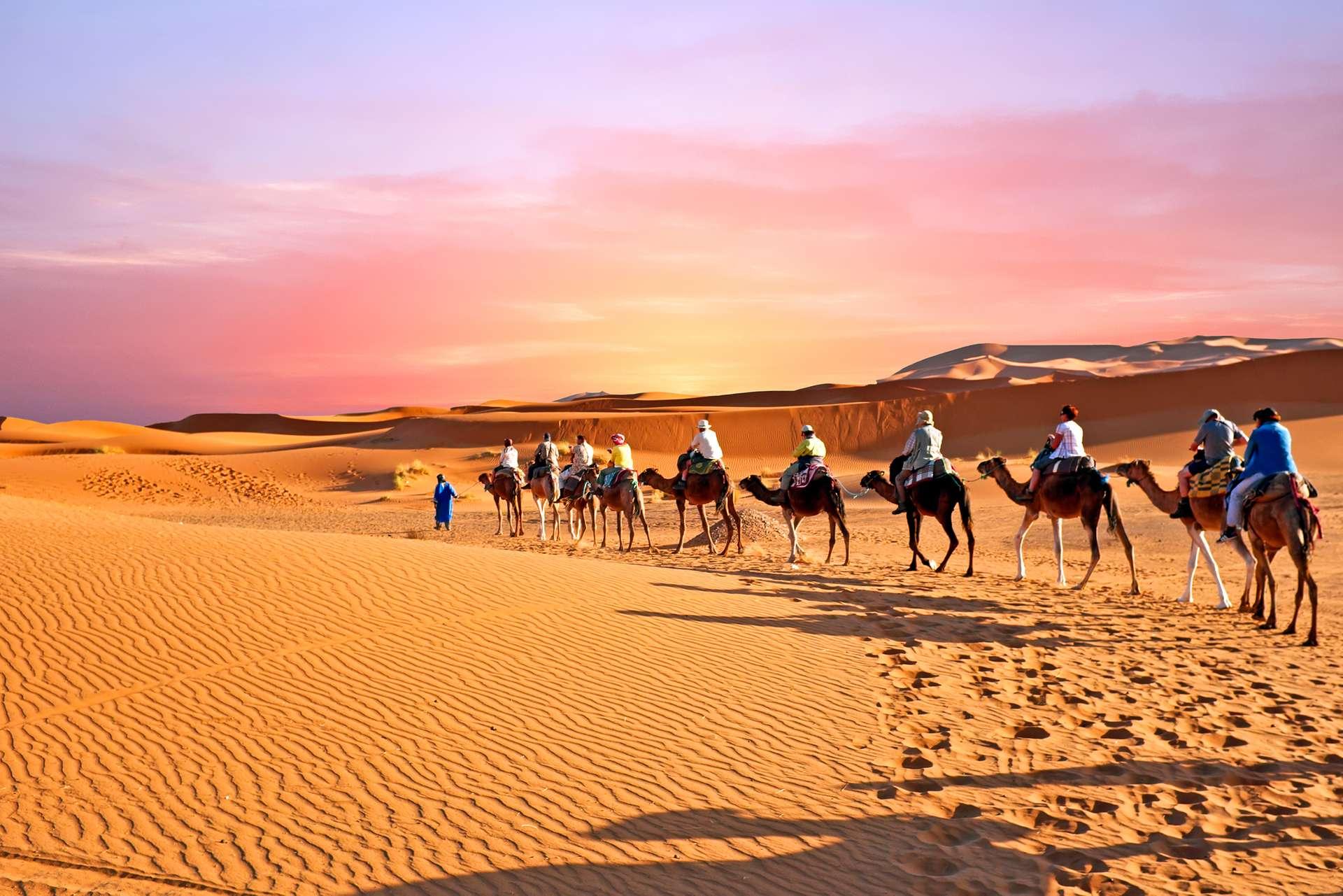 Morokko Sahara Desert