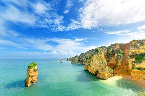 Portugal Algarve Lagos idyllisch strandje