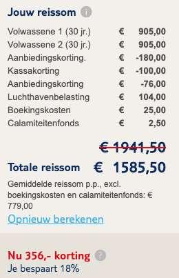 RIU palace madeira €779