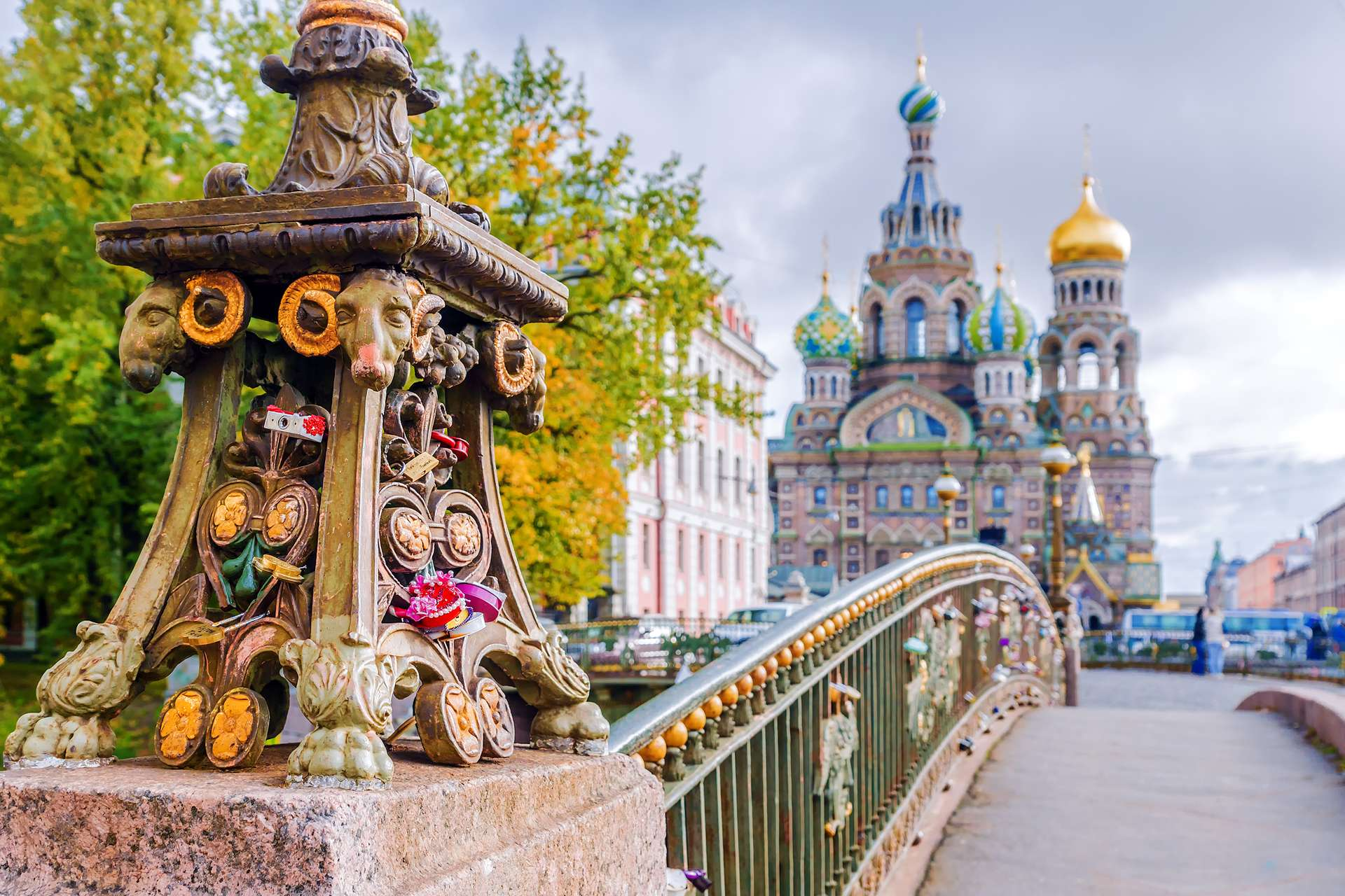 Rusland St.Petersburg Church of the Savior on Spilled Blood