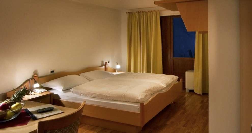 Slaapkamer Hotel Lorenz