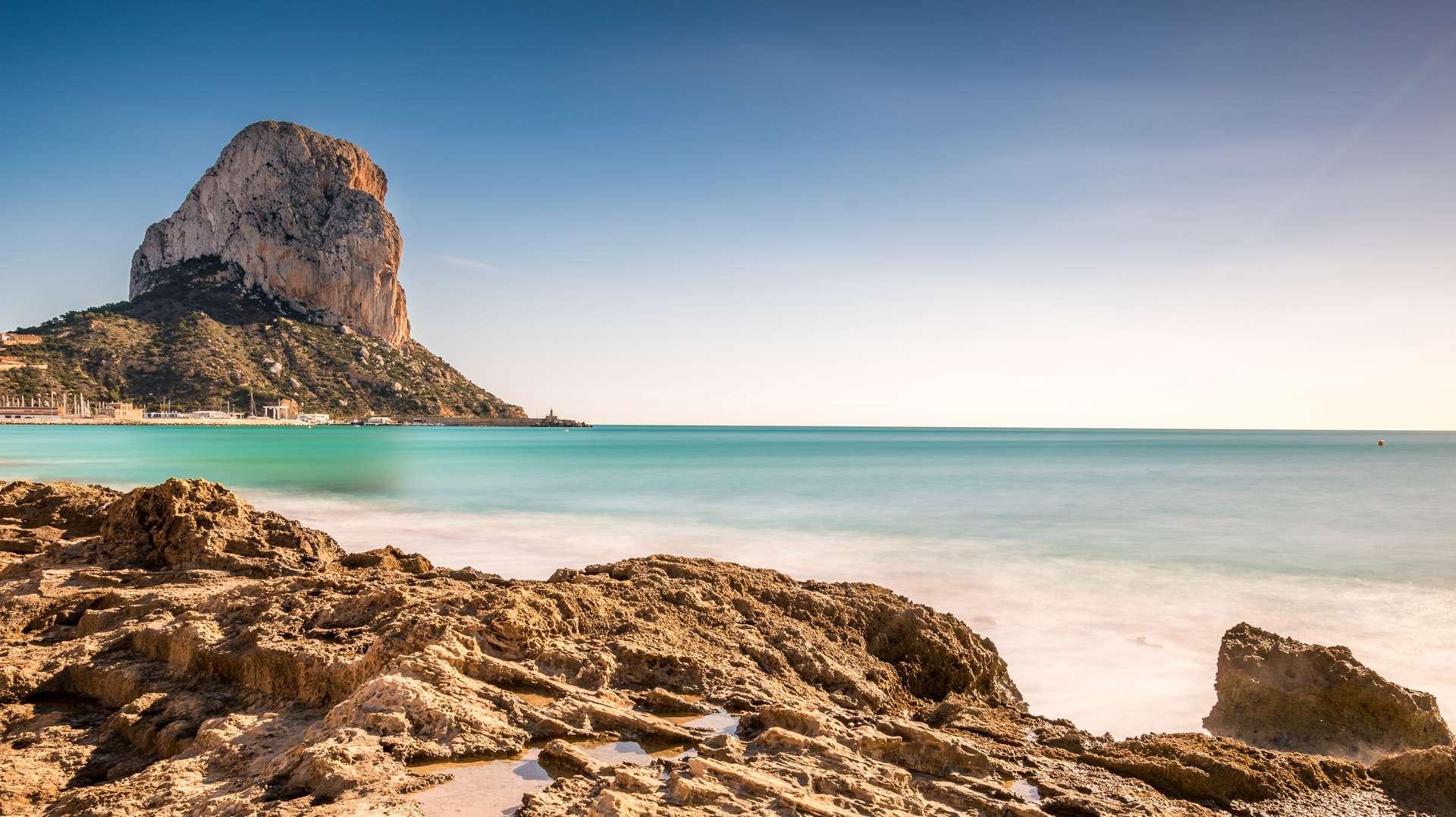 Spanje Alicante Zee Berg