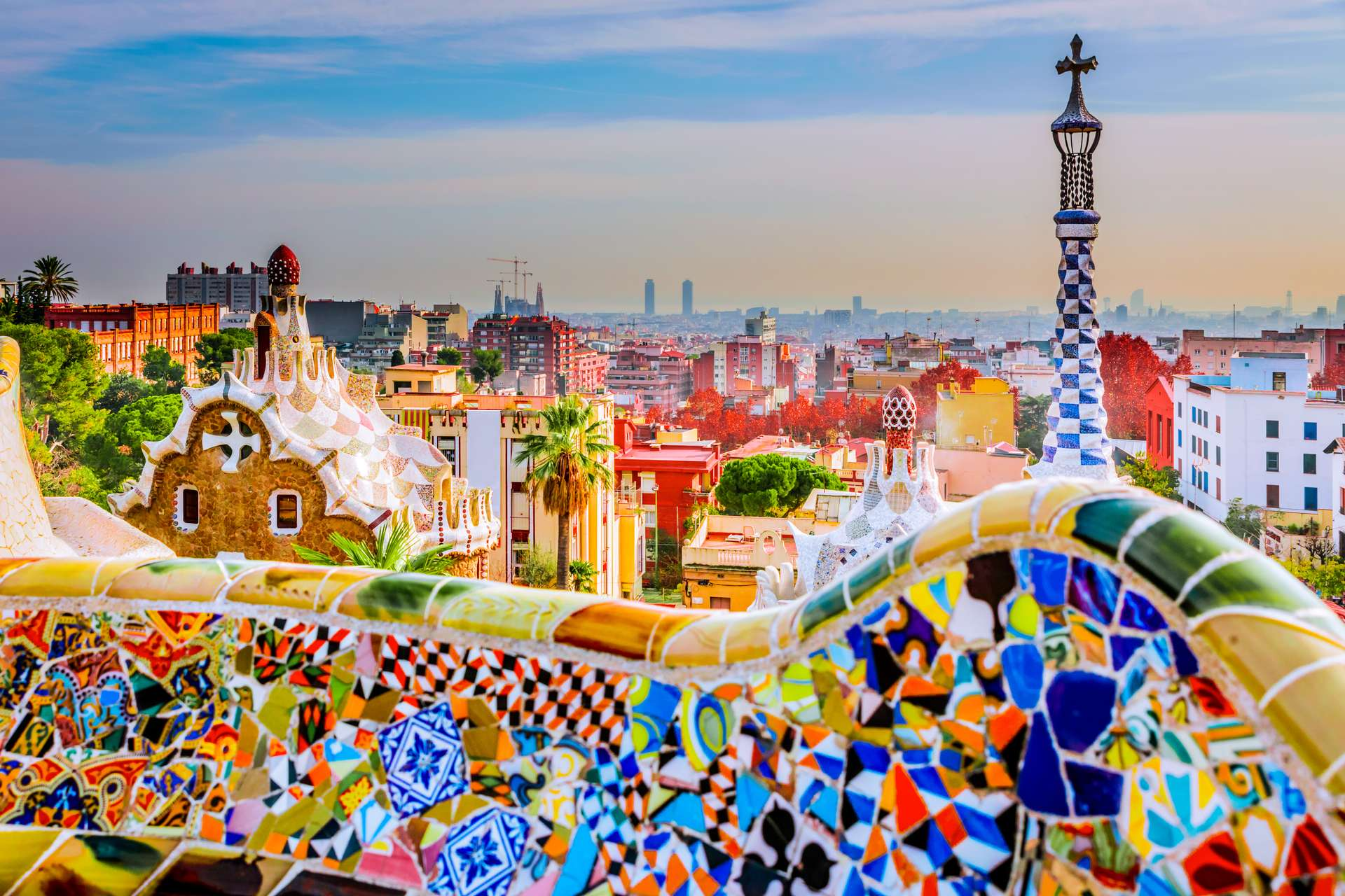 Spanje Barcelona Park Guell6