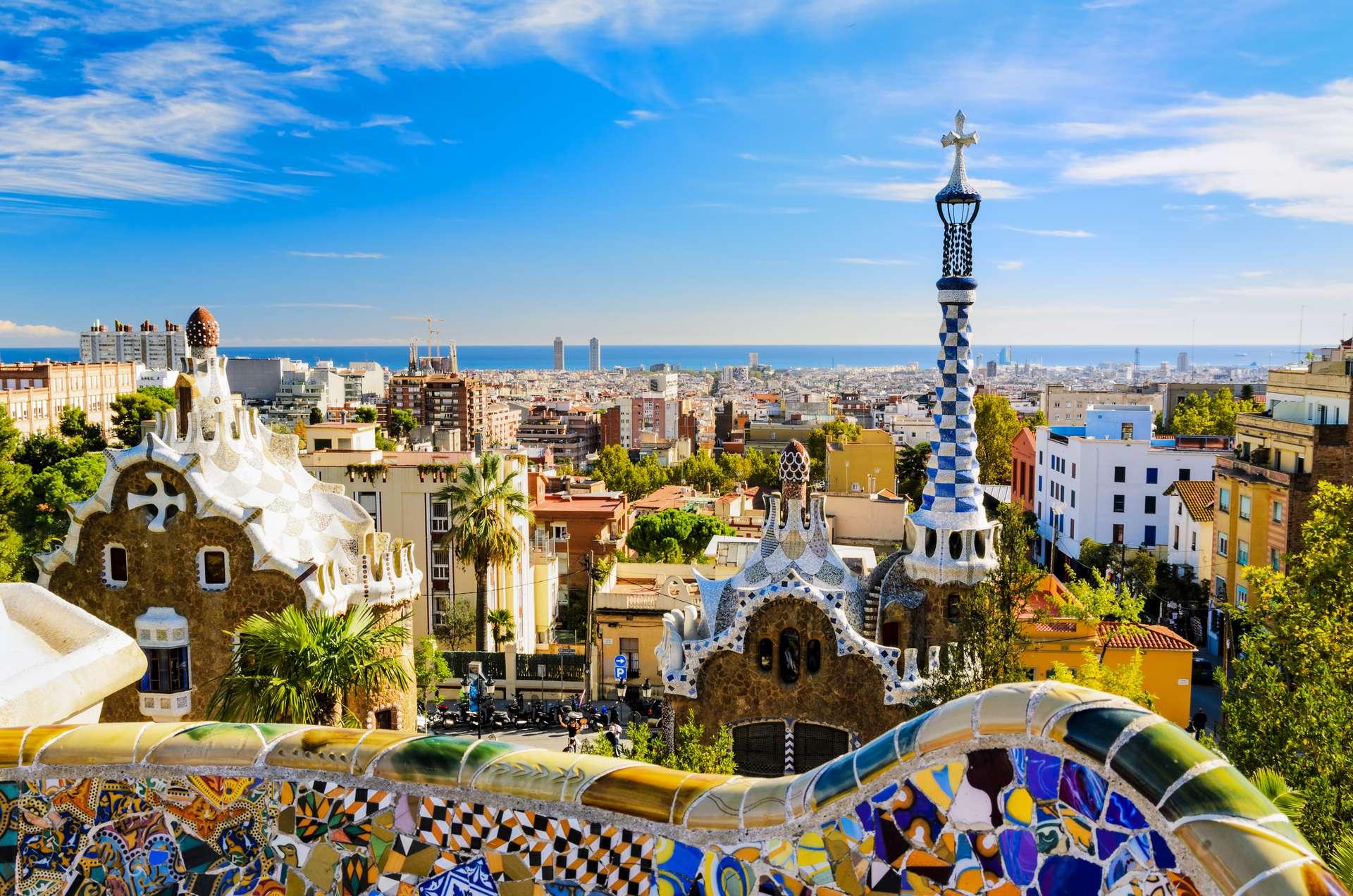 Spanje Barcelona Park Guell7