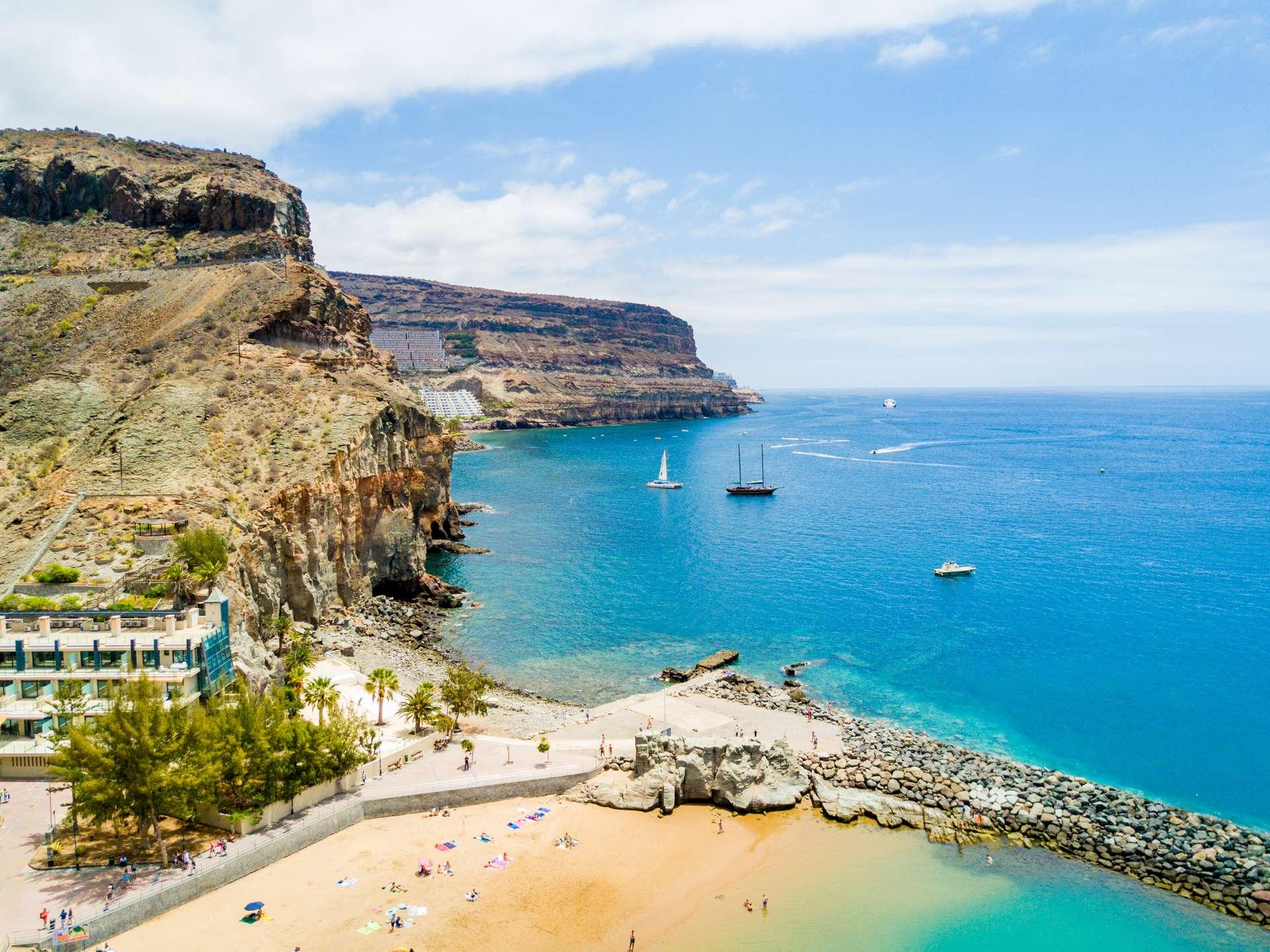 Spanje Canarische Eilanden Gran Canaria Puerto Mogan