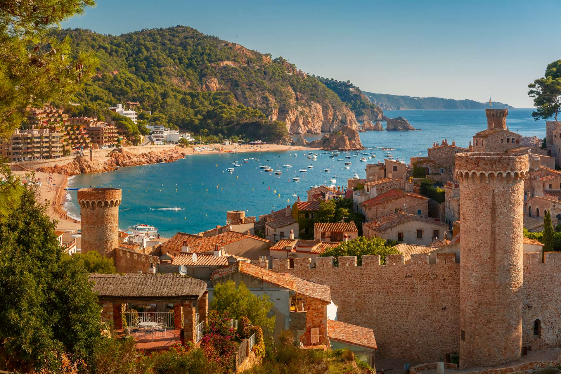 Spanje Costa Brava Tossa de Mar