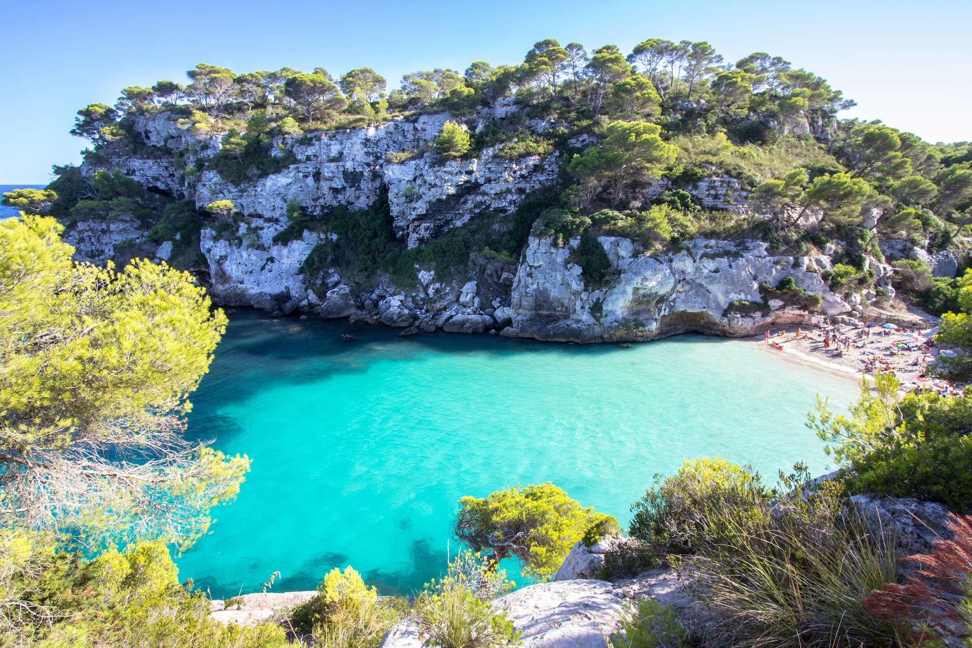 Spanje Menorca Macarelleta beach