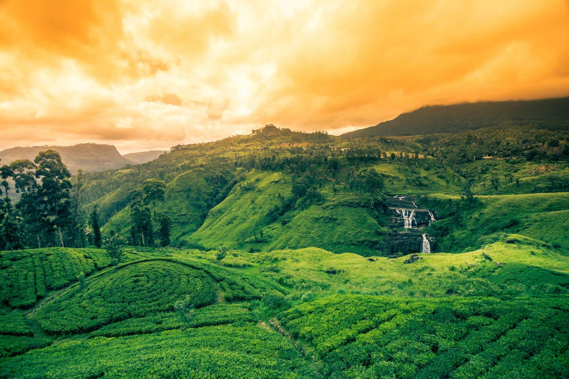 Sri Lanka st. clairs waterval