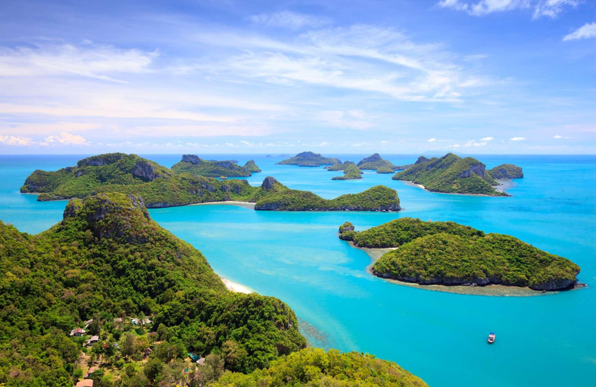 Thailand Koh Samui Angthong national marine park