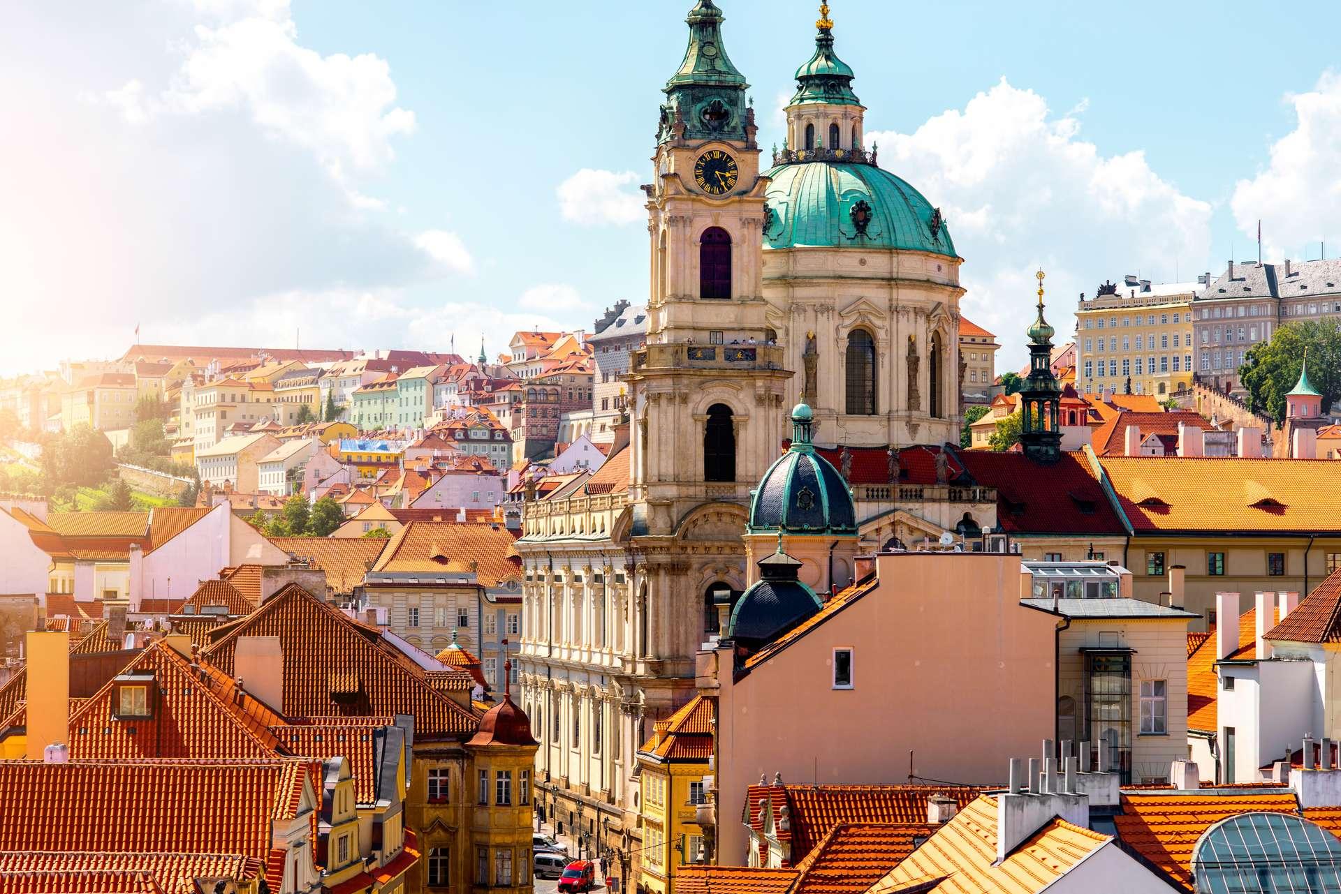 Tsjechië Praag saint Nicholas church