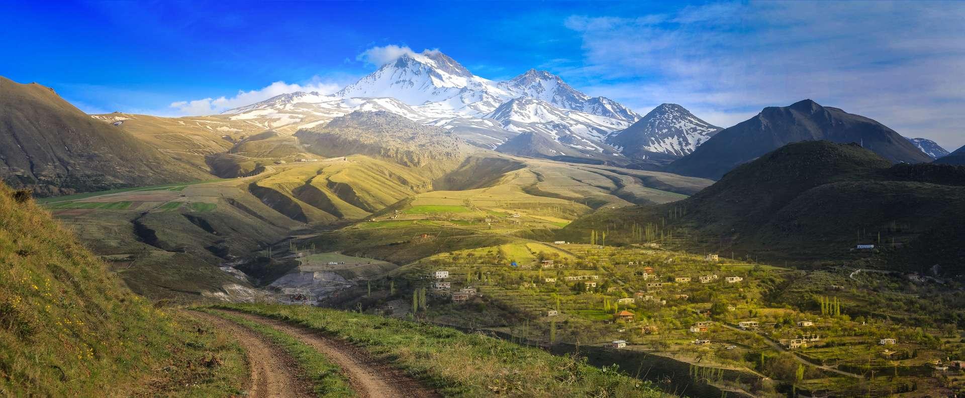Turkije Kayseri Volcanic mountain Erciyes