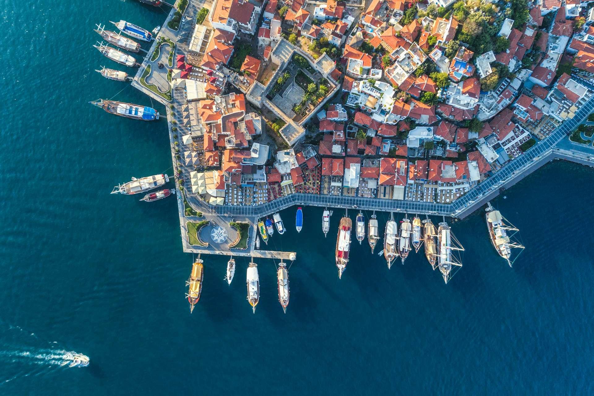 Turkije Marmaris bovenaanzicht