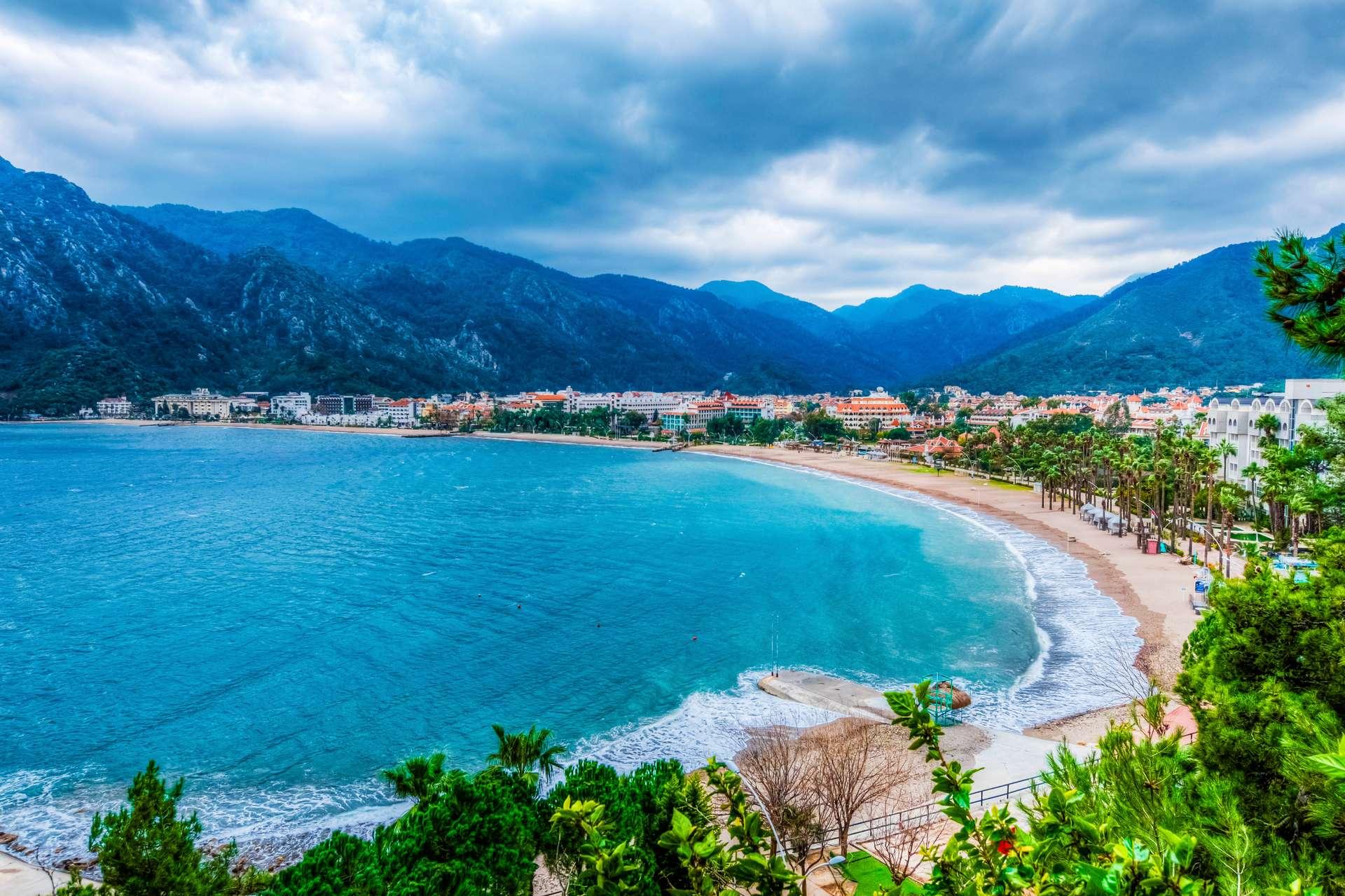 Turkije Marmaris Icmeler Beach
