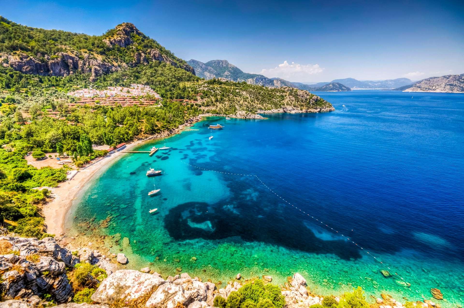 Turkije Marmaris Turunc Bay