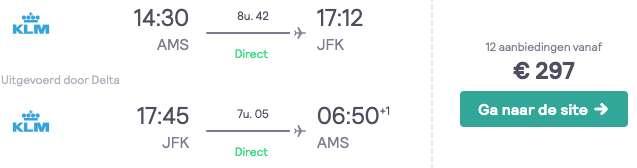 Vliegtickets New York