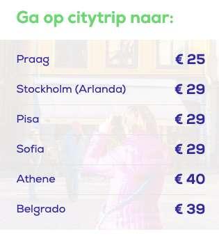 Vliegtickets Transavia vanaf €25