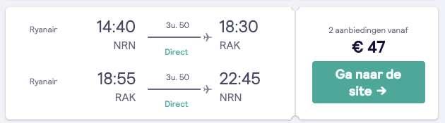 Vluchten €47