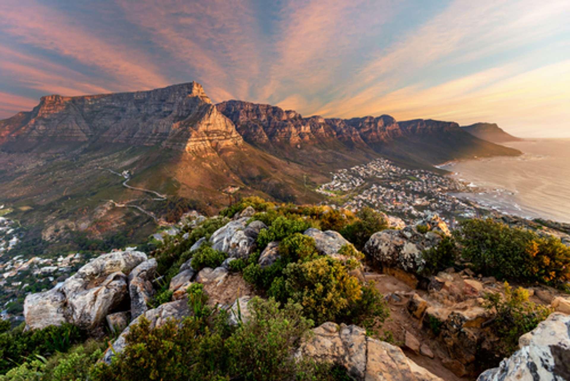 Zuid Afrika Tafelberg